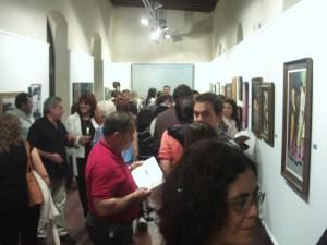 """Finaliza la muestra """"35 artistas locales de nuestro tiempo"""" de la sala de exposiciones del Castillo"""