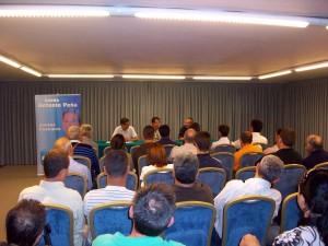 Antonio Peña se reunió con representantes del mundo del deporte