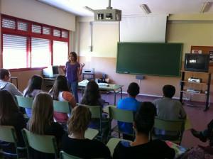 Alumnos de Secundaria del IES Salmedina participan en un taller de Diputación sobre trastornos alimentarios