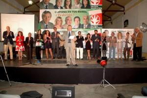 Chipiona ofreció un amplio respaldo a la presentación de la candidatura del P.A.