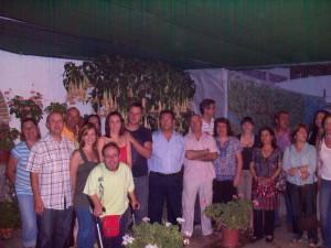 Antonio Peña cumple su compromiso con los vecinos de Pozo Romero