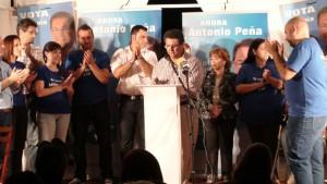 Antonio Peña agradece el buen recibimiento en Camacho Baños
