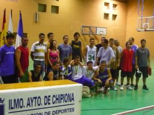 """MC Pollo"" vencedor del torneo 3×3 de baloncesto"