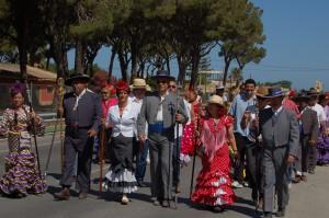 Isabel María Fernández  hace un balance positivo de la Romería del Pinar