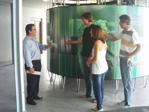 Antonio Peña cuenta con CEPSA, CANS y el Zoobotánico de Jerez para el futuro del centro de interpretación del camaleón