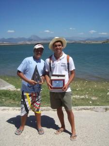 Eduardo Bueno se proclama Campeón de Andalucía de aguas interiores en Bornos