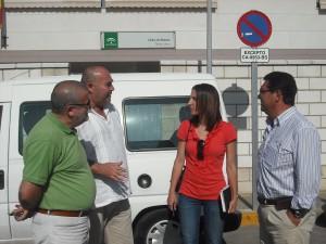 El alcalde y la delegada de Bienestar Social visitan el Centro Tolosa Latour