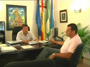 Antonio Peña mantiene una reunión de contacto con el presidente del CSI-CSIF