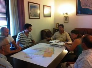 El Alcalde se reúne con la Asociación Cultural Caepionis