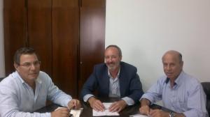 Rafael Naval acuerda con Diputación la financiación de varios planes de obras municipales