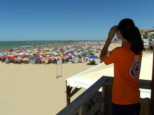 El delegado de Playas hace balance de las actuaciones de protección civil durante la temporada estival
