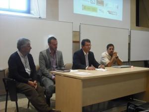 Antonio Peña inaugura un congreso de matemáticos e ingenieros que se celebra en la casa de espiritualidad del Santuario de Regla