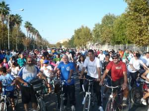 Más de 600 personas celebraron  el Día de la Bicicleta