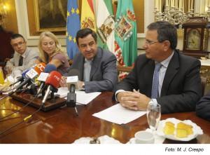La Junta y el Gobierno central adeudan 33 millones de euros a Diputación