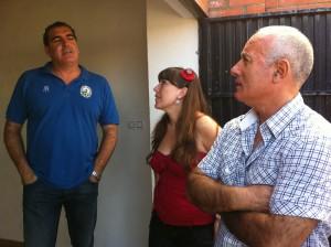 Los ediles de Educación y Servicios Municipales visitan el colegio Divina Pastora