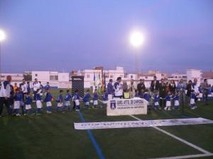 La escuela municipal de fútbol inaugura la temporada de su vigénismo aniversario