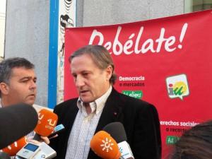 """Willy Meyer: """"la única candidatura en CADIZ que tiene valores de izquierda es la de Cárdenas y el electorado tiene que salir de la indecisión"""""""