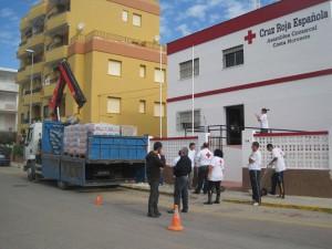 Cruz Roja reparte  ocho mil kilos de alimentos para necesitados