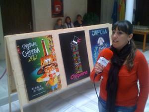 Expuestas en el Castillo las quince obras que optan a ser cartel del carnaval 2012