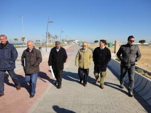 El ayuntamiento valora muy positivamente la conclusión de la segunda fase del nuevo paseo marítimo de la Cruz del Mar