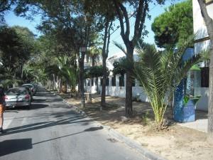 El Alcalde y el concejal de Urbanismo visitan las obras de las avenidas del Faro y de Sevilla