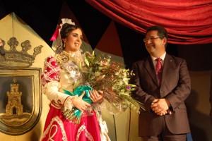 Noelia Cárdenas Gallero  elegida perla del carnaval 2012