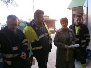 Izquierda Unida acuerda con los sindicatos y el PP el rescate parcial del servicio de limpieza viaria y desbloquea la huelga de trabajadores de la UTE.