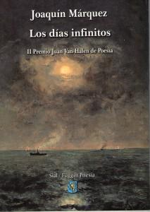 Joaquín Márquez, ganador del II Certamen Internacional de Poesía Juan Van Halen de Torrelodones