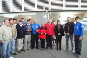 2ª prueba de la liga de invierno de cruceros que el club de actividades náuticas deportivas-escuela municipal de vela de Chipiona