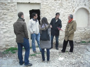 Rafael Naval informa que la Diputación Provincial tiene prevista la inspección arqueológica de las obras del edificio San Fernando