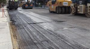 Urbanismo exige que se vuelvan a asfaltar las calles del centro para recepcionar las obras