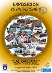 Las Galeras celebran su veinticinco aniversario con una exposición en el Castillo