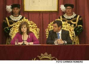 "Cádiz, ""la capital de la España que cree en sí misma"", recibe la Medalla de la Provincia"