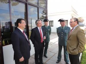 El Subdelegado manifiesta el compromiso del Gobierno para la ampliación y mejora del Cuartel de la Guardia Civil