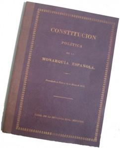 La Biblioteca Municipal exhibirá un facsímil de la Constitución de 1812 el lunes 19 de marzo