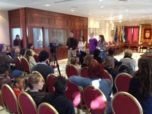 Alumnos y profesores de cuatro países europeos se interrelacionan con el Colegio Lapachar gracias al programa Comenius