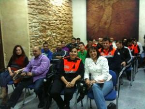 Aspirantes a voluntarios de Protección Civil se forman con un curso básico