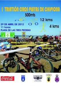 Chipiona abrirá la temporada andaluza de triatlón con la prueba «Playas de Chipiona»