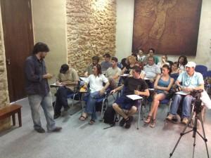 Una veintena de alumnos participan en un curso gratuito de fotoperiodismo