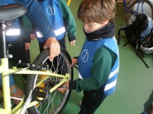 Un taller acercará el mundo de la bicicleta a un centenar de alumnos