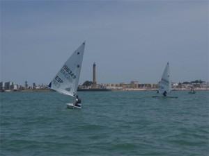Alfredo Gómez segundo en la quinta prueba de la liga náutica láser