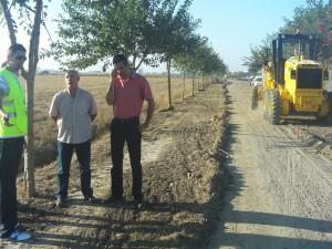 Las obras de la Vía Verde de Chipiona  retomadas después de años de parón