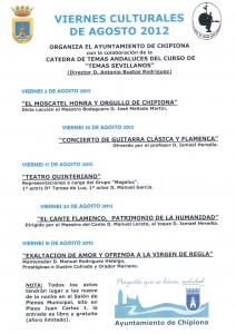 Mellado Martín abrirá el ciclo de conferencias Viernes Culturales