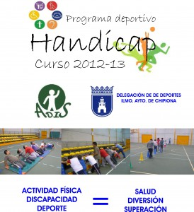 """El próximo 5 de octubre comienza una nueva edición del programa deportivo para discapacitados """"Handicap"""""""