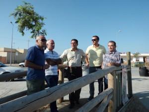 Ayuntamiento y CANS tratan de que la arena del dragado se vierta en la zona más regresiva y no en Micaela