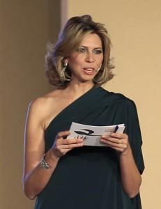 La periodista Marina Bernal nombrada Madrina de la Asociación Década 60/70 en la Fiesta de la Virgen de Regla de Chipiona 2012.-