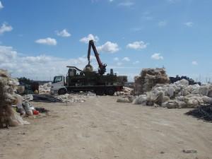 Gestionadas 130 toneladas de plásticos agrícolas desde la apertura de la planta de transferencia hace siete meses