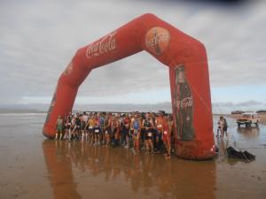 La buena climatología contribuyó al espectáculo del tercer Duatlón Playas de Chipiona