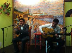 Jesús Méndez y David Palomar dejan en Chipiona  esencias del mejor flamenco joven de la provincia