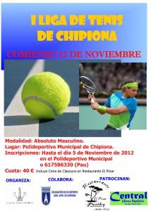 El club de tenis local y la delegación de Deportes lanzan la primera liga local